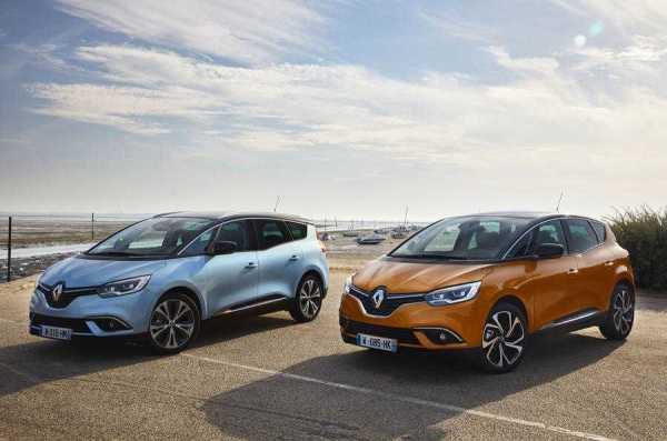 2016 Renault Scenic and Grand Scenic