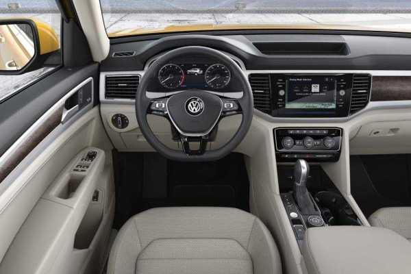 2017 Volkswagen Atlas Interior