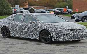 2018 Toyota Camry Exposed