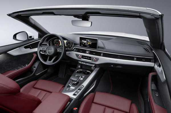 Audi A5 Cabriolet Interiors