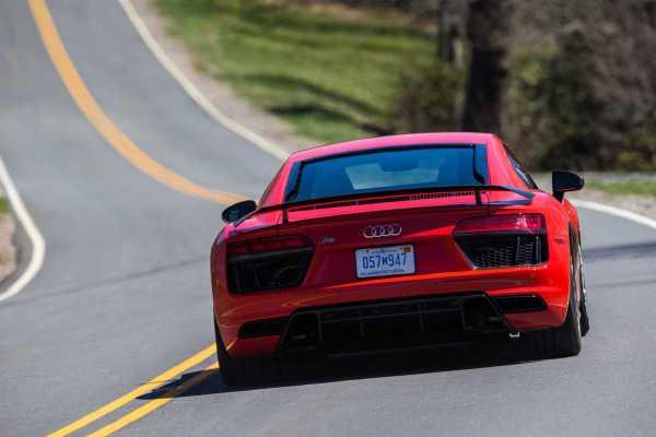 Audi R8 V10 Plus Laser Lights