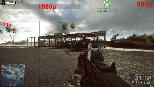 Battlefield 1 Higher Resolution on PS4