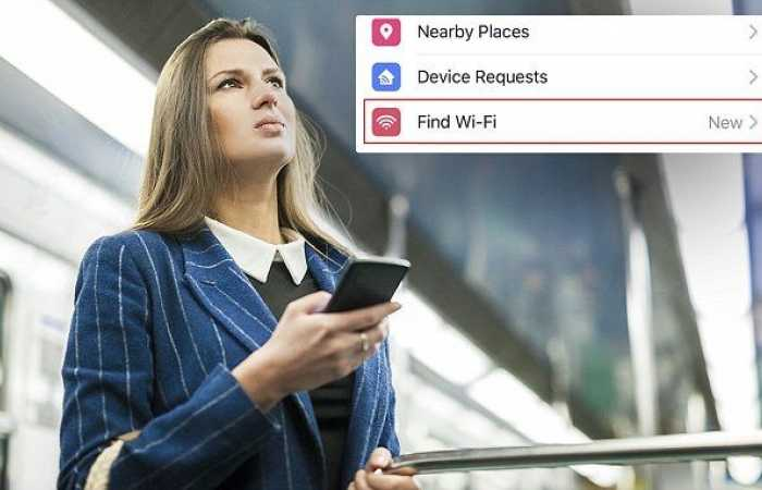 Find Wi-Fi For iOS Users
