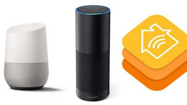 Google Home,Apple HomeKit or Echo