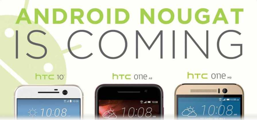 HTC 10, HTC One A9 and One M9