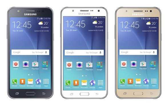 Samsung Galaxy A5, Galaxy A7 and Galaxy J3