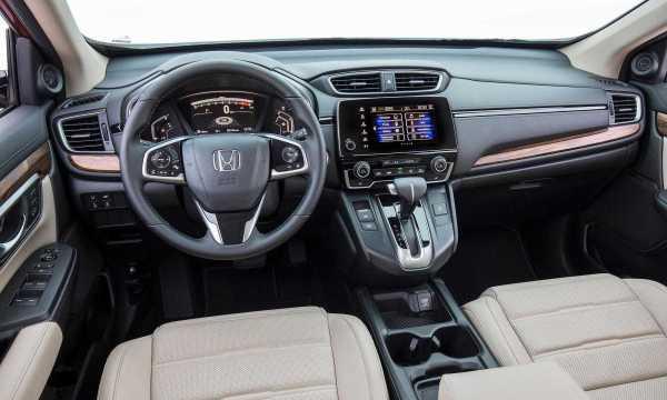 Honda CR-V Base LX Model interior