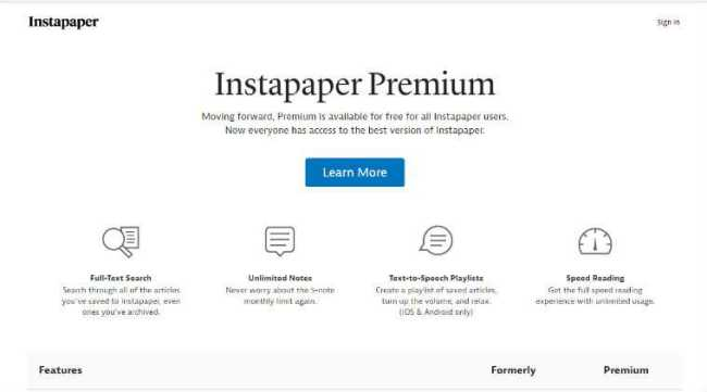 Instapaper Premium Free Subscription