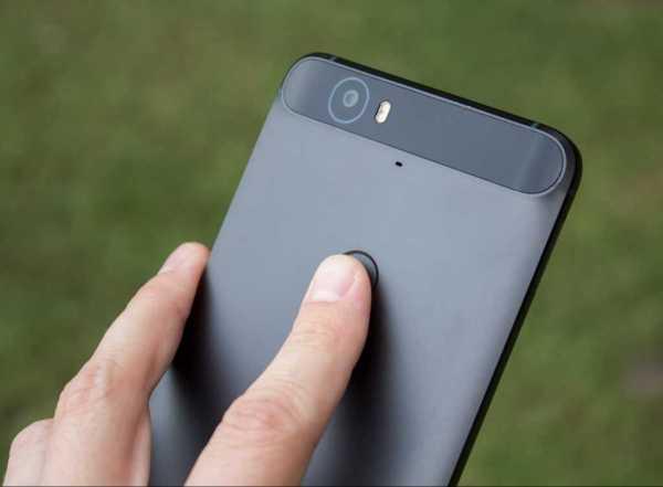Nexus 6P Fingerprint Swipe