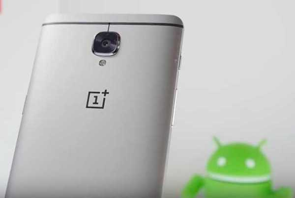 OnePlus 3T Android Nougat