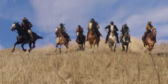 Red Dead Redemption 2 Trailer Horses