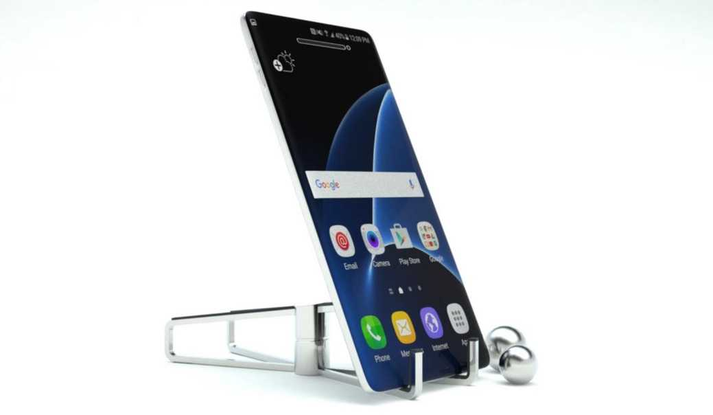 Image result for Samsung Galaxy S8 and S8 Plus Bezel-less Screen