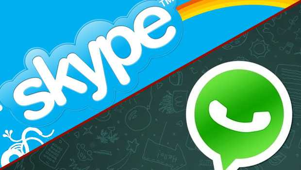 WhatsApp vs Skype