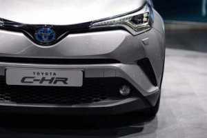 Toyota C-HR LA Auto Show 2016