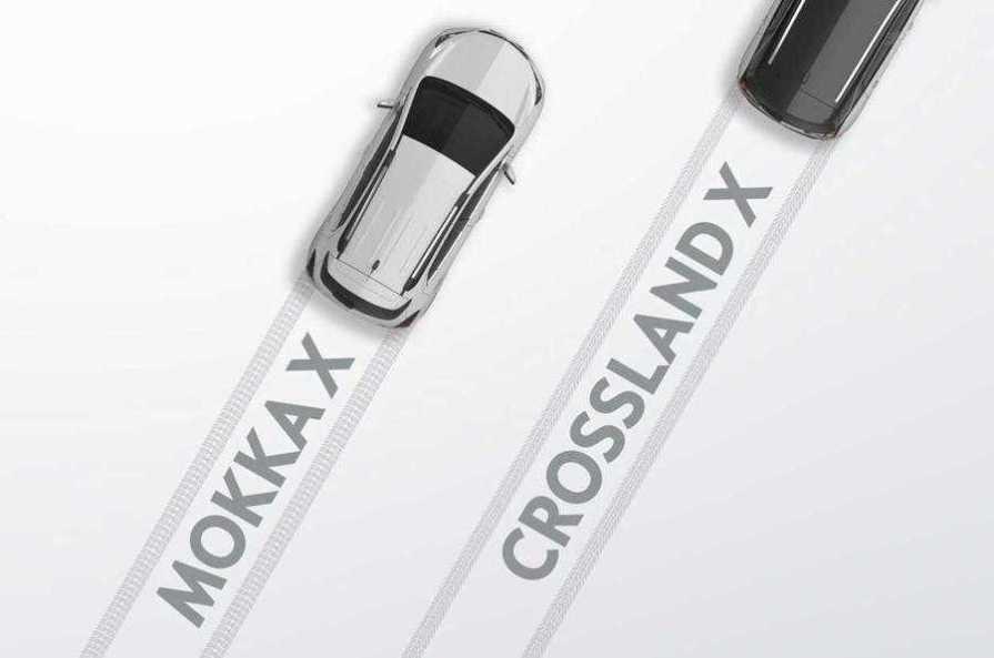 Vauxhall Crossland X & Mokka X