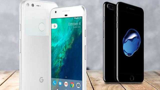 iPhone 7 Plus and Pixel XL