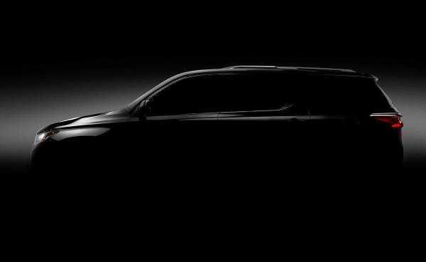 2018 Chevrolet Traverse Teaser Image