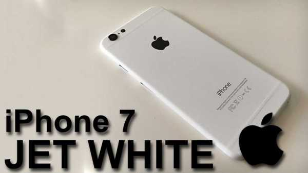 Apple iPhone 7 Jet White Editions
