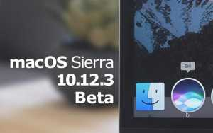 Apple macOS Sierra 10.12.3 Beta