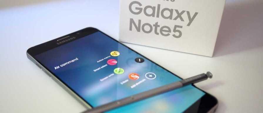 Galaxy Note 5 Updates