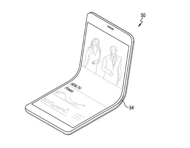 Galaxy Note 8 Foldable Screen