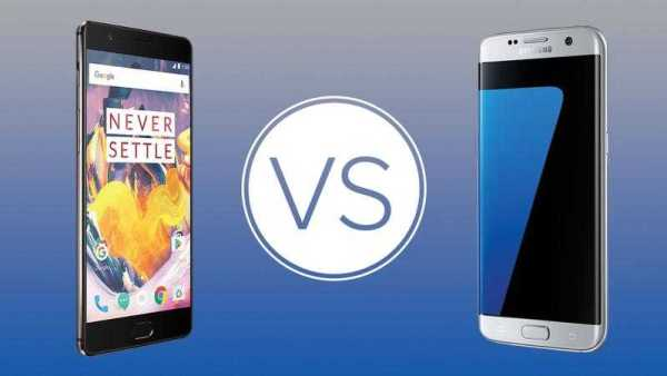 Galaxy S7 vs OnePlus 3T