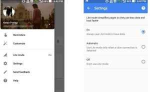 Google Lite Search Mode