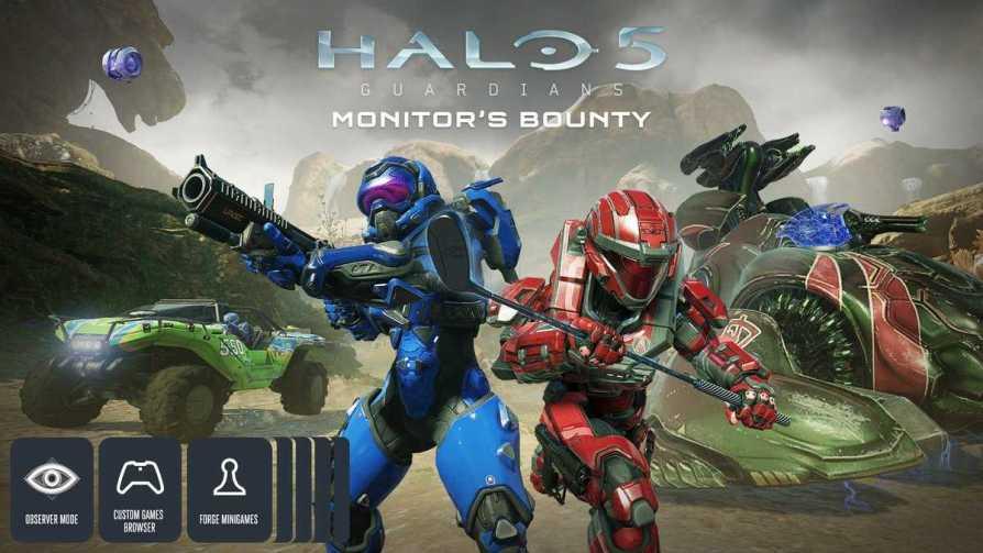 Halo 5 Get Monitor Bounty