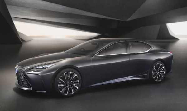 Lexus LS 2017 Detroit Auto Show