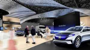 Mercedes Benz CES 2017 Plans