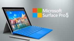 Microsoft Surface Pro 5 2017