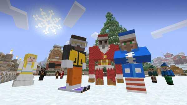 Minecraft Festive Update