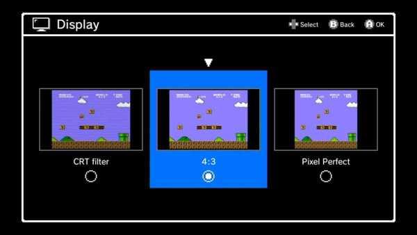 NES classic Features