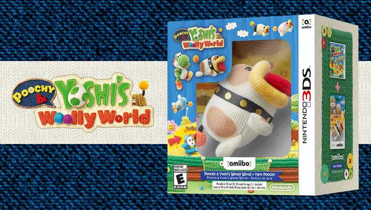 Watch this new trailer from Poochy & Yoshi's Woolly World