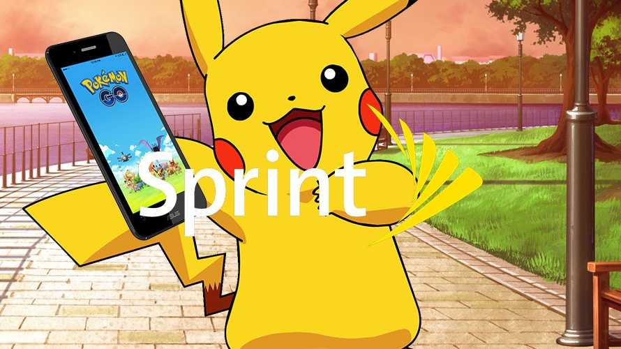 Pokemon Ties Up with Sprint