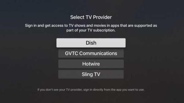 TV Provider