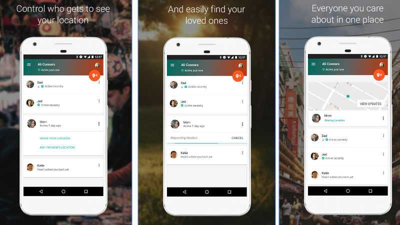 Trusted Contacts App