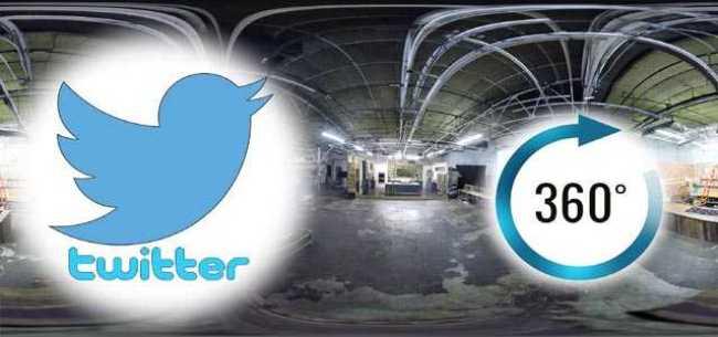 Twitter Live 360 videos