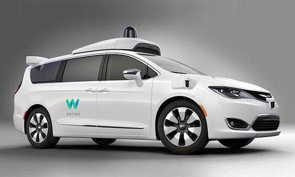 Waymo Self Driving Minivan