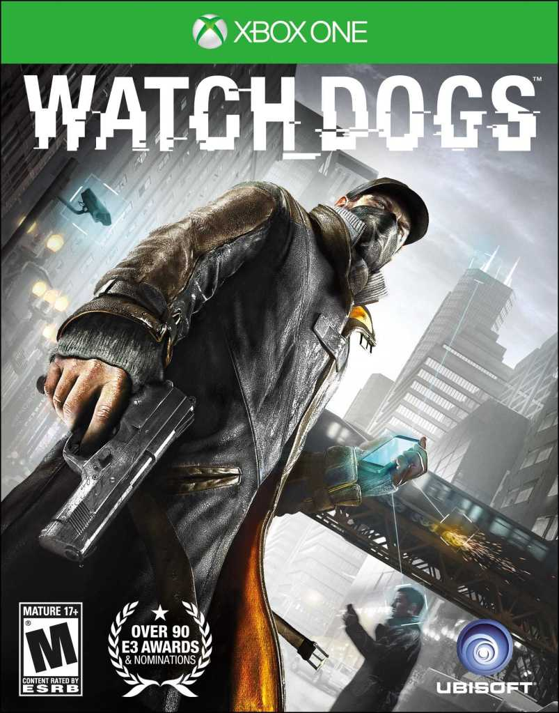 Xbox One with Watch Dogs 2