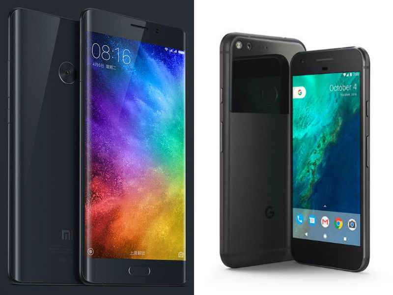 Xiaomi Mi Note 2 vs Google Pixel XL