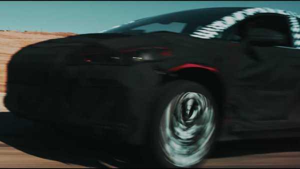 faraday future SUV Teaser