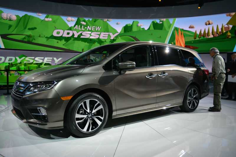2018 honda odyssey minivan specs powertrain and more. Black Bedroom Furniture Sets. Home Design Ideas