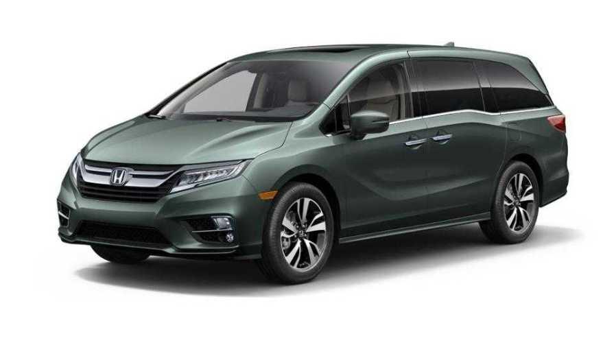 2018 Honda Odyssey Minivan