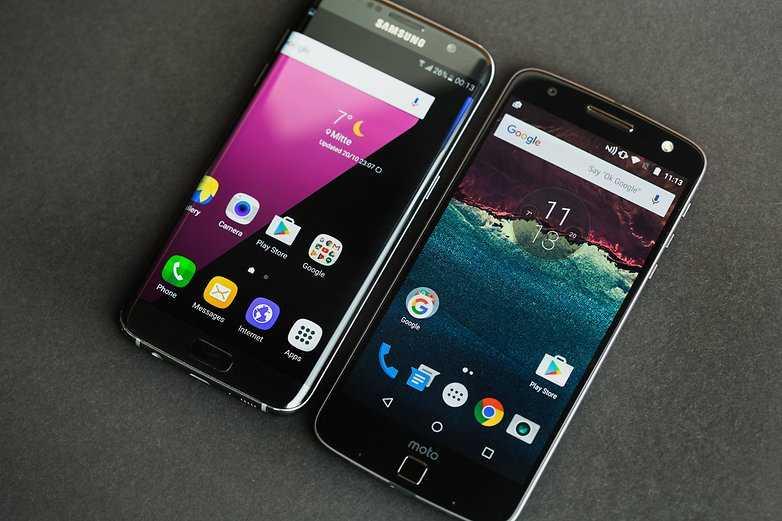 Samsung Galaxy S7 Edge vs Moto Z Play