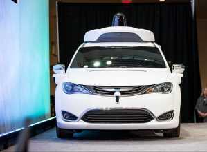 Google Self-Driving Minivan