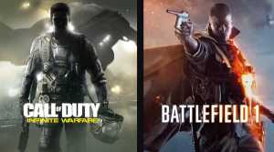 Infinite Warfare and Battlefield 1