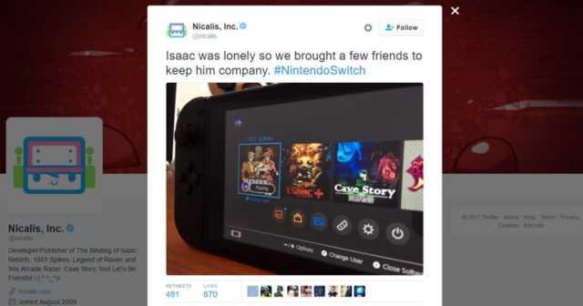 Nintendo Switch Revealed