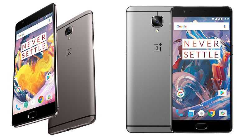 OnePlus 3 and One Plus 3T