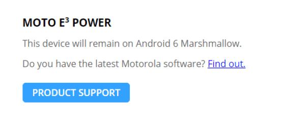Moto E3 Power